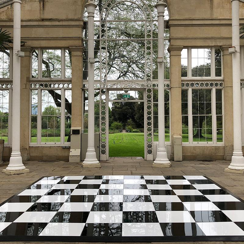 Black-White-Chequered-Dance-Floor-Hire