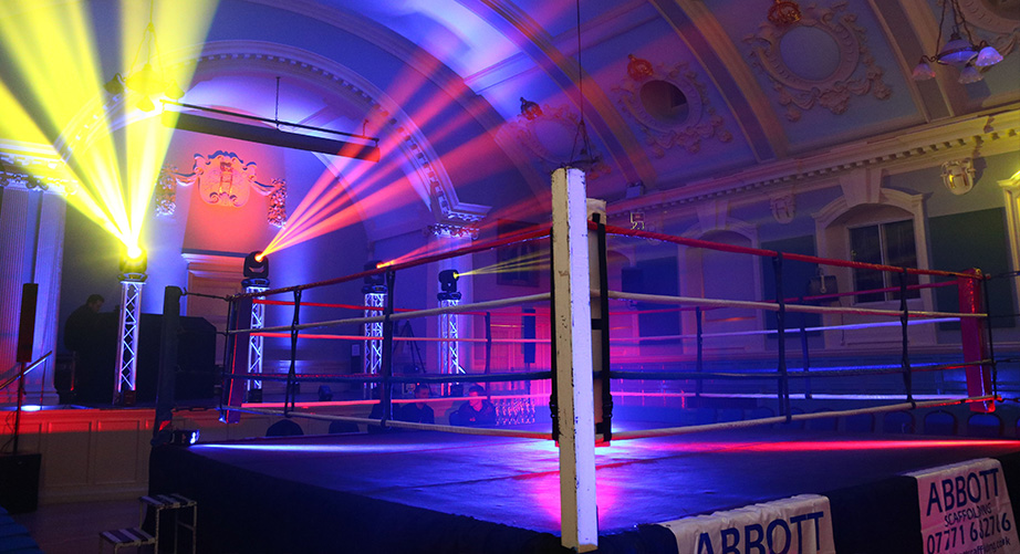 Boxing-Event-Show-Lighting-Hire-London