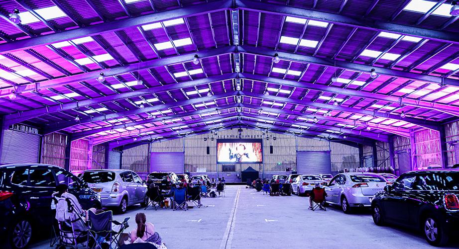 Drive-in-Cinema-Lighting-Hire-Berkshire