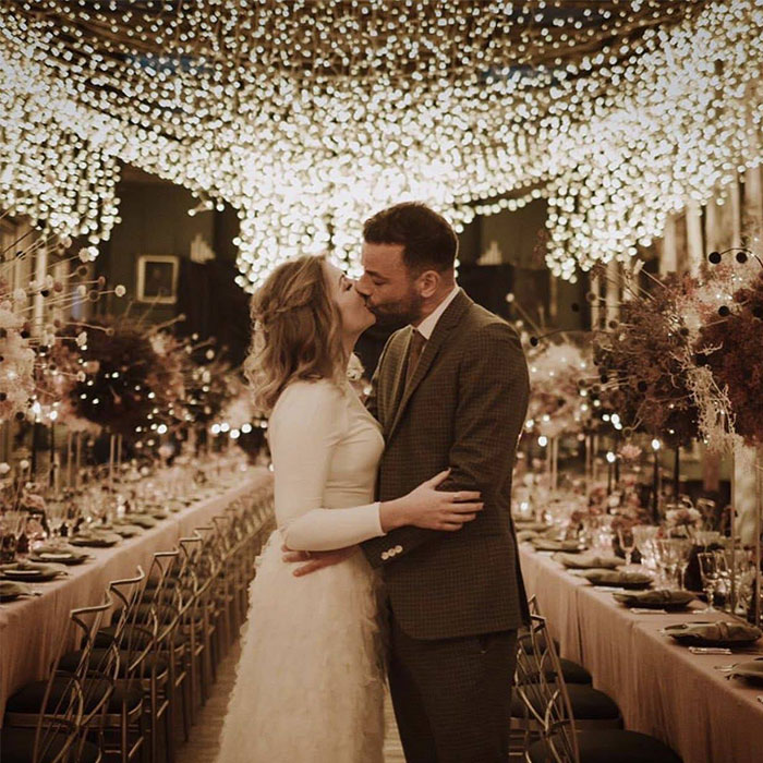 Muse-Chris-Wolstenholme-Wedding-Sommerly-House-Fairy-Lights