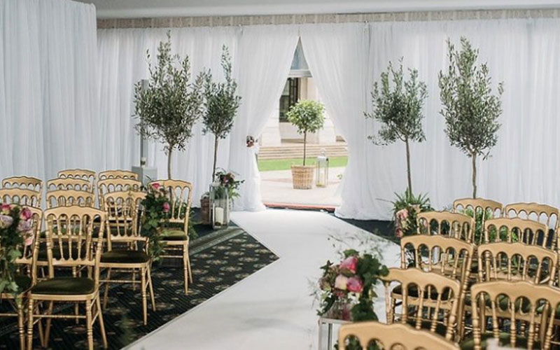 White-Pleated-Wedding-Backdrops-for-Hire-Berkshire